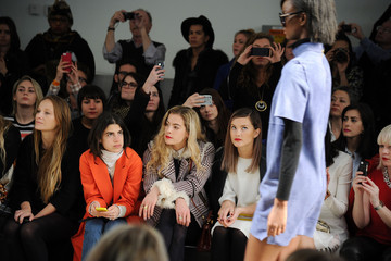 Leandra Medine Karen Walker - Front Row - Mercedes-Benz Fashion Week Fall 2014