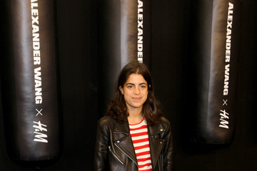 Leandra Medine Arrivals at the Alexander Wang X H&M Launch