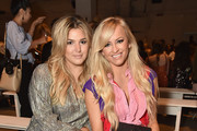 Singer Isabelle and Danielle Moinet attend Leanne Marshall fashion show during New York Fashion Week: The Shows  at Gallery 2, Skylight Clarkson Sq on September 10, 2017 in New York City.