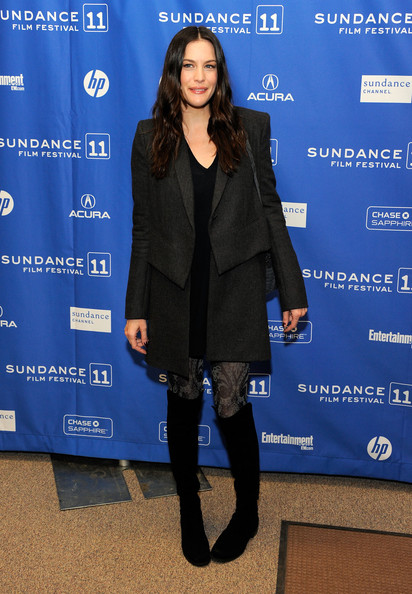 "Actress Liv Tyler attends ""The Ledge"" Premiere at the Eccles Center Theatre during the 2011 Sundance Film Festival on January 21, 2011 in Park City, Utah."