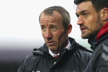 Lee Bowyer Northampton Town Vs. Charlton Athletic - Sky Bet League One