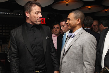 Lee Gause DuJour Magazine's Jason Binn, And Invicta Watches Welcome Tony Robbins To New York