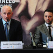 Lee Haskins and Barry McGuigan