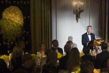 Lee Hsien Loong President Obama Hosts State Dinner for Singapore's Prime Minister Lee Hsien Loong