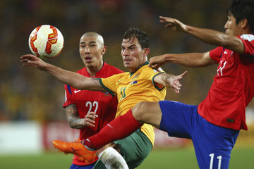 Lee Keun Ho Korea Republic v Australia - 2015 Asian Cup: Final