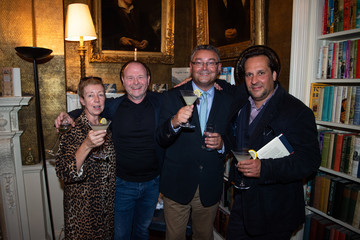 Lee Martin Andy Saunders Mark Getty Launches His New Book 'Like Wildfire Blazing' Published By Adelphi Publishers