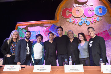 Lee Unkrich Adrian Molina 'Coco' Global Press Conference