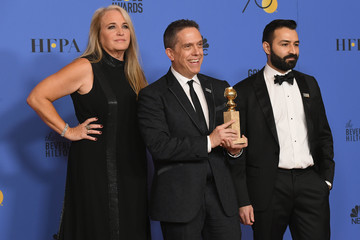 Lee Unkrich Adrian Molina 75th Annual Golden Globe Awards - Press Room