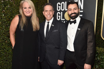 Lee Unkrich Adrian Molina 75th Annual Golden Globe Awards - Executive Arrivals