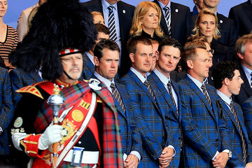 Lee Westwood Rory McIlroy 40th Ryder Cup Opening Ceremony