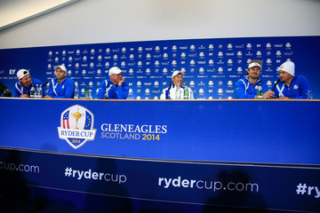 Lee Westwood Victor Dubuisson Afternoon Foursomes