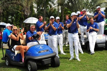 Lee Westwood Victor Dubuisson EurAsia Cup Presented by DRB-HICOM - Day Three