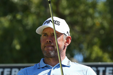 Lee Westwood World Super 6 Perth - Day Two