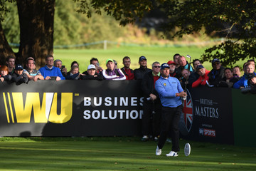 Lee Westwood British Masters - Day Four