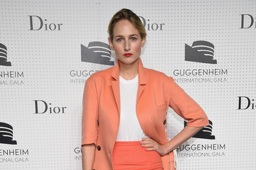 Leelee Sobieski Guggenheim International Gala Dinner Made Possible By Dior