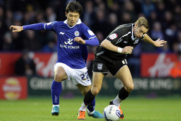 Lee Martin Leicester City v Ipswich Town - npower Championship