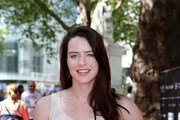 Actress, Michelle Ryan poses for a photo prior to talking about her new film 'Cockneys v Zombies' at an event to mark the opening of the new look Liecester Sqaure which opens this week at Leicester Square on May 27, 2012 in London, England.  The programme of relaunch events includes a celebration of Film4 FrightFest the 13th, which returns on August 23, 2012.