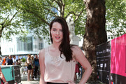 Actress, Michelle Ryan poses for a photo prior to talking about her new film 'Cockneys v Zombies' at an event to mark the opening of the new look Leicester Sqaure which opens this week at Leicester Square on May 27, 2012 in London, England.  The programme of relaunch events includes a celebration of Film4 FrightFest the 13th, which returns on August 23, 2012.