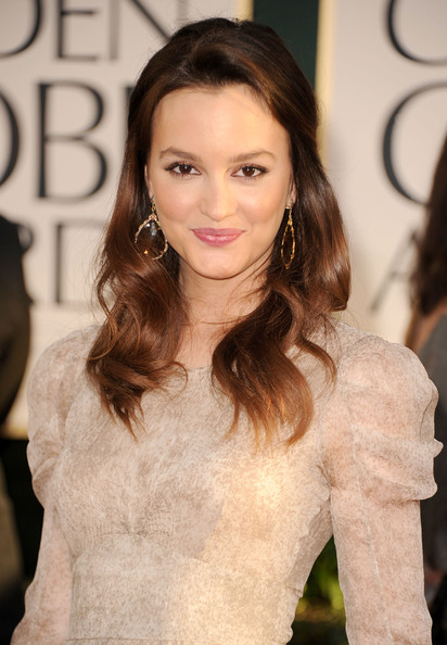 Leighton Meester Actress Leighton Meester arrives at the 68th Annual Golden ...