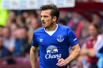 Leighton Baines Hearts v Everton FC - Pre Season Friendly
