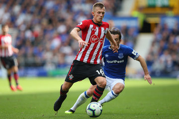 Leighton Baines Everton vs. Southampton - Premier League
