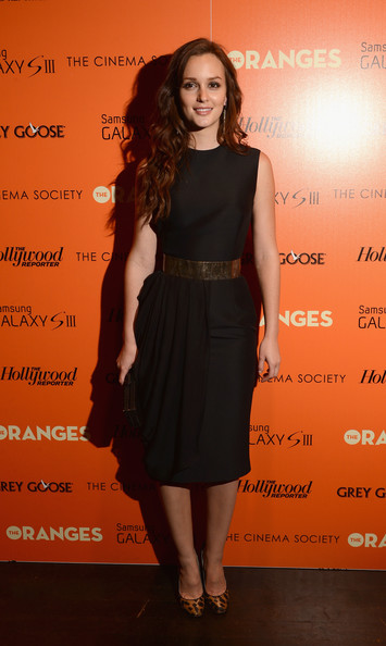 Leighton Meester - The Cinema Society with The Hollywood Reporter & Samsung Galaxy S III host a screening of