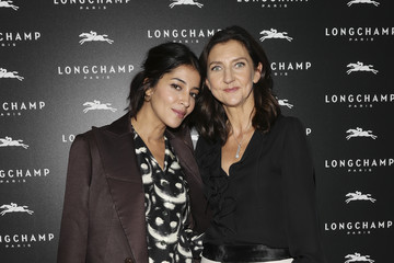Leila Bekhti Longchamp : Cocktail - Paris Fashion Week Womenswear Spring/Summer 2017