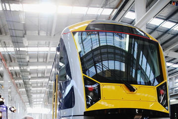 Len Brown John Key Launches New Electric Train Fleet in Auckland