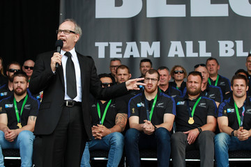 Len Brown New Zealand All Blacks Welcome Home Celebrations