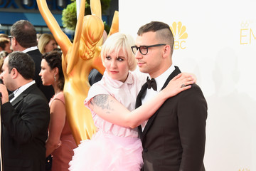 Lena Dunham Arrivals at the 66th Annual Primetime Emmy Awards — Part 2