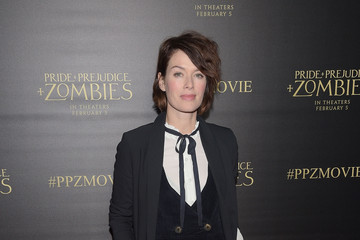 Lena Headey Premiere of Screen Gems' 'Pride And Prejudice And Zombies' - Arrivals
