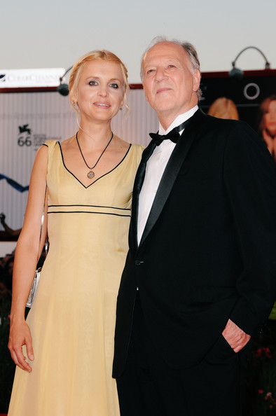 Werner Herzog with cool  hot  beautiful  sexy  cute  Wife Lena Herzog
