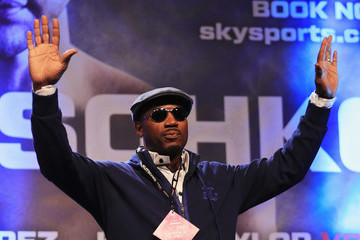 Lennox Lewis Anthony Joshua v Wladimir Klitschko Weigh-in