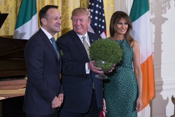 Leo Varadkar European Best Pictures Of The Day - March 16, 2018