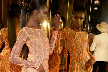 Leomie Anderson Harper's BAZAAR Celebrates 'ICONS' By Carine Roitfeld At The Plaza Hotel
