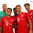 Leon Goretzka FC Bayern Muenchen And Paulaner Photo Session