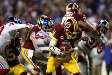 Leon Hall New York Giants v Washington Redskins