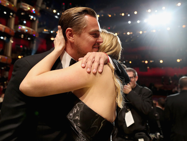 Backstage at the 2016 Academy Awards [hairstyle,dance,event,dancesport,ballroom dance,performance,leonardo dicaprio,audience,kate winslet,academy awards,california,hollywood,dolby theatre,l,88th annual academy awards]