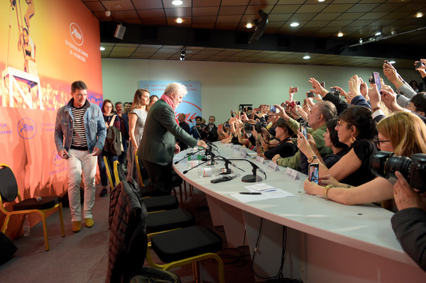 """""""Pain And Glory (Dolor Y Gloria/ Douleur Et Glorie)"""" Press Conference - The 72nd Annual Cannes Film Festival [event,crowd,audience,design,convention,photography,table,interior design,party,tourism,antonio banderas,penelope cruz,pedro almodovar,dolor y gloria,douleur et glorie,l-r,cannes,france,press conference,the 72nd annual cannes film festival]"""