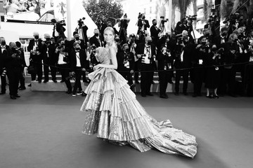 """Leonie Hanne """"OSS 117: From Africa With Love"""" Final Screeing & Closing Ceremony Red Carpet - The 74th Annual Cannes Film Festival"""
