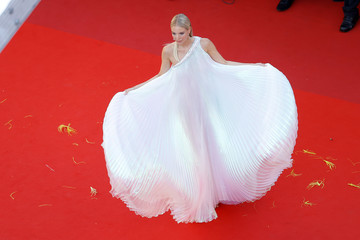 """Leonie Hanne """"Stillwater"""" Red Carpet - The 74th Annual Cannes Film Festival"""