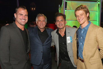 Les Moonves CBS, CW, Showtime Summer TCA Party - Inside