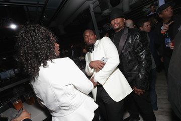 Lesean Mccoy The Thuzio Executive Club and Rosenhaus Sports Representation Party During Super Bowl Weekend