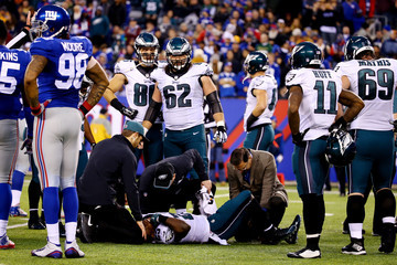Lesean Mccoy Philadelphia Eagles v New York Giants