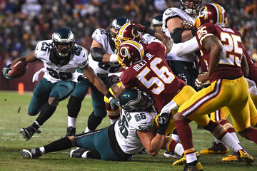 Lesean Mccoy Philadelphia Eagles v Washington Redskins