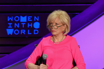 Lesley Stahl Eighth Annual Women in the World Summit