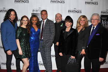 "Leslie Bricusse Yvonne Roman Red Carpet Opening Night And Party - ""JEKYLL & HYDE"" Pre-Broadway Engagement At Pantages"