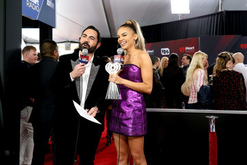 Leslie Grace 2018 iHeartRadio Music Awards  - Press Room