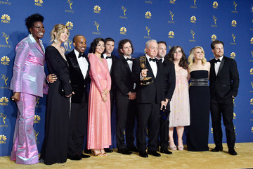 Leslie Jones 70th Emmy Awards - Press Room