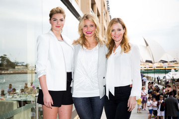 Leslie Mann Kate Upton 'The Other Woman' Photo Call in Sydney